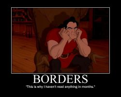 Gaston Liked Borders by LivingShadowDarkMark