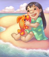 Lilo and Pudge by frandemartino