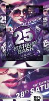 Birthday Party Flyer Vol_2 by caniseeu