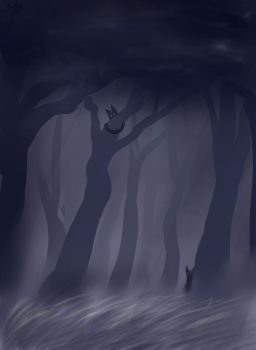 The grey forest by N1njaChick