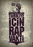 Turkiye icin RAP Vakti by engin-design