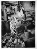 Charcoal Reversal: Shoemaker by Orangetavi