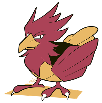 021 - Spearow by the-Mad-Hatress