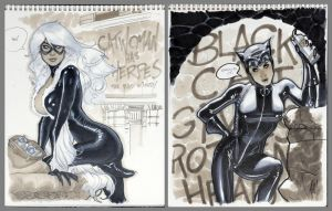 Black Cat Woman by AdamHughes