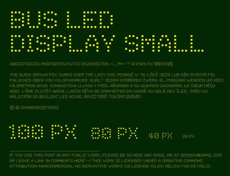 Bus Led Display Small by msulik