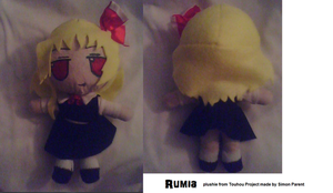 Rumia plushie by Hao-007