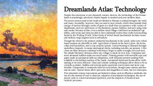 Dreamlands Atlas: Technology by TeamGirl-Differel