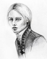 Laurent the Ice Prince of Rabat b/w by disco-mouse