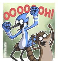 Regular Show by ZombiDJ