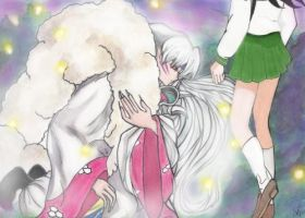 Kagome Dreaming by Dash-V
