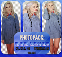 Photopack png 001. Perrie Edwards by Manuuselena