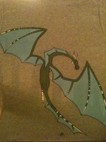 Blue Dragon Sweater - Back by YourFavoriteSoyBean