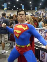 Superman Action pose by mjac1971