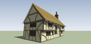 Tudor building by Ddagaro