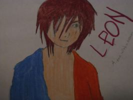 Fastly drawn Leon by JacobyxShaddix