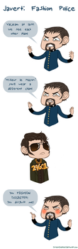 Javert: Fashion Police by GreenGoateeGal
