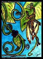Prayer: Mother's Green ATC by halfbreed