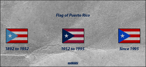 Puerto Rico's flag by AY-Deezy