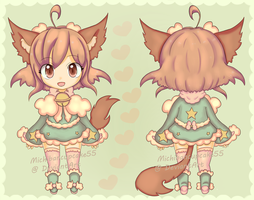 Spring Catfox Adopt  -CLOSED- by MichibanCupcakes