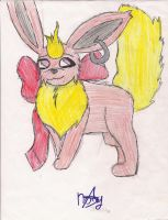 julie the flareon by pandabear0223
