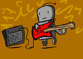 Robot Rock by hellojed