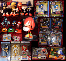 Sonic Collection .: Toys part 2:. by VeggieMadness