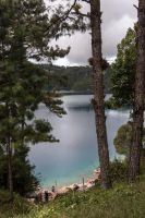 Lake with a View II by Wyco