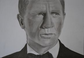 James Bond (AKA Daniel Craig) by Paul-Shanghai