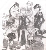 Soul Eater Characters by DreamerGirlD