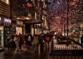 Walk on M Ave 2 by lightzone