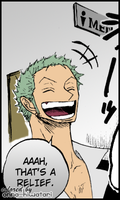 Zoro coloring, Grand Martini (2) by AnnaHiwatari