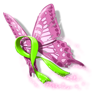 Tatty - The Mental Health Awareness Butterfly by suzidragonlady