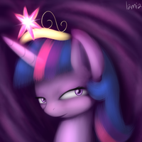 Princess Twilight Portrait by Lamiaaaa