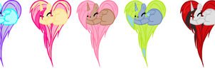 adoptables (open) by PeppermintBowtie