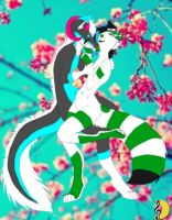 Love blossoming by WolfGrenade
