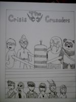 Crisis Crusaders Title Page by Redcavalier