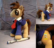 Tenth Doctor Whooves by PhantomxFan