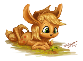 Apple Littlejack grow by AssasinMonkey