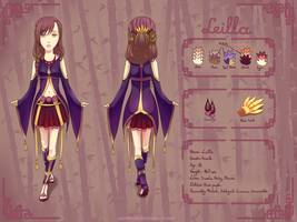OC ref: Leilla by pushis33