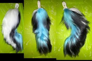 'Husky' Yarn Tail by Myscal