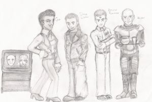 Red Dwarf ANIME STYLE by red-dwarf-club