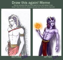 Before and after the Meme by Zielle