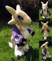 Renamon Plush by Sethaa