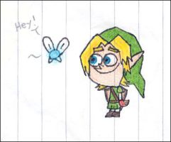 Fairly OddLink and Navi by pizza-eater