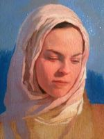 Oil Sketch of My Wife by Sidimention