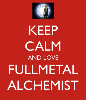 Keep Calm - FMA by sabbocheek