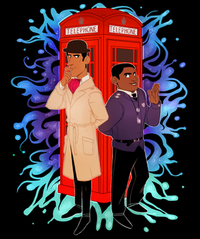 Inspector Spacetime by SIIINS