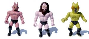 Fight Action Figures by Teagle