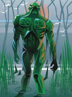 Swamp Thing by Bugstomper86