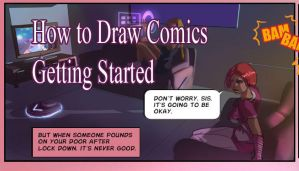 How to Draw Comics beginning by discipleneil777